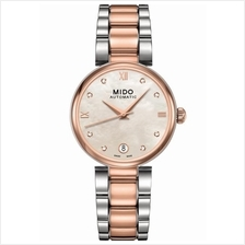 MIDO M022.207.22.116.10 BARONCELLI Lady Auto Diamond bracelet two-tone