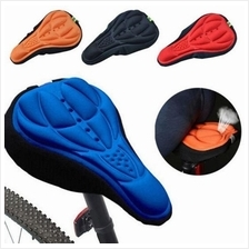 Bike Bicycle Saddle Gel Seat Cover Cushion Soft Pad 3D Breathable