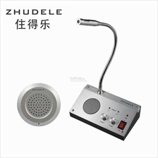 Bank/Office/Store/Station Window Dualway  Counter Intercom Interphone