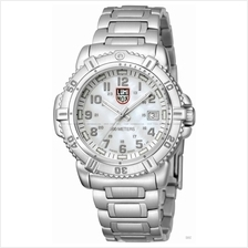 LUMINOX 7258 Steel Colormark Date silver MOP/grey SS bracelet