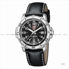 LUMINOX 7251 Steel Colormark Date silver black/grey black leather stra