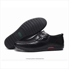 Men Business Shoes  England PU Leather Shoes