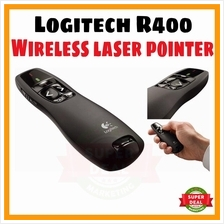 Logitech' R400 Wireless Presenter Red Laser Pointer PPT USB Office Use