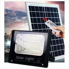 25W Solar Panel LED Spot Light/Garden Lamp With Remote~On Whole Night