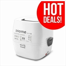 Flash Sales:iHome Two-Layer Stainless Steel Electric Steamer HL908BA