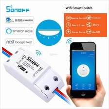 Sonoff Wifi Smart On/Off Switch & Timer Control By Phone App & Alexa