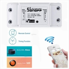 Sonoff Wireless Smart Switch DIY Home Electrical Hp & Alexa Control
