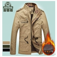 Nian Jeep Winter Coat Thick Winter Jacket J1222