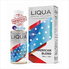 *ORIGINAL* LIQUA American 30ml eLiquid Vapor Vape eJuice