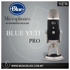Blue Yeti Pro USB Condenser Microphone, Multipattern.