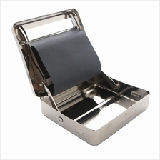 New Auto Cigarette Cigar Metal Roller Tobacco Rolling Box Machine Case