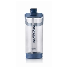 1800ml Relax Tritan Water Bottle with Straw- D7218 Blue