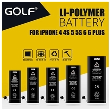 Apple iPhone 4 4S 5 5S 6 6S Plus Original GOLF Battery Replacement
