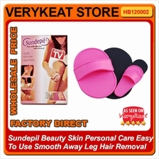 Smooth Leg Arm Skin Pads Face Upper Lip Effective Hair Removal Set