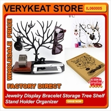 Jewelry Display Bracelet Storage Tree Shelf Stand Holder Organizer