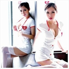 A163 SEXY NURSE SUIT UNIFORM COSPLAY SET (Sexy Lingerie With Panty)