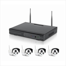 Wireless WiFi NVR 8 Channel + 4 IP CCTV 2.8mm 960p ONVIF P2P