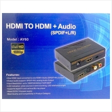HDMI audio extractor splitter SPDIF stereo audio out RCA