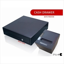 Heavy Duty Metal Cash Drawer with Thermal Receipt Printer Multi PCUser