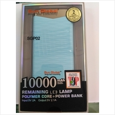 Sun Global 10000mah remaining Led Lamp Polymer core + power bank