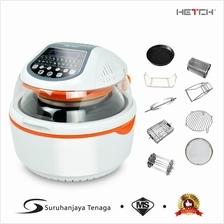 HETCH Digital Turbo Air Fryer - 20 Functions + 10 Accessories