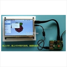 7 inch touch panel LCD for raspberry PI plug and play 1024*600