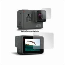 Gopro Hero 5 Lens and Screen Protector Film Protect Tempered Glass