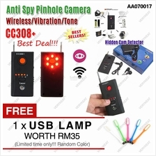 CC308+ Wireless Anti-Spy Bug Hidden Camera RF Detector Pinhole Killer