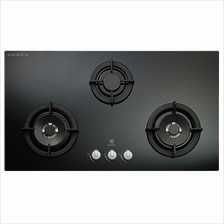 ELECTROLUX EGT9038CK GAS HOB 3 BURNERS 90CM CAST IRON