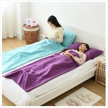 Portable Sleeping Bag Sleeping Gear Cotton Hygiene Bedsheet for Travel