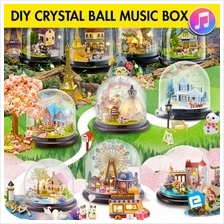 DIY Crystal Ball Music Box Chrismas Gift