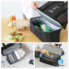 Shopping Cooler Bag Portable Outdoor Camping Picnic Shopping Coolers