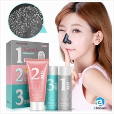 Original BIOAQUA 3 in 1 Blackheads Whiteheads Remover Peel-off Mask
