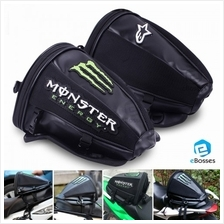 Bike Reflective Motorcycle Tail Bag Monster Alpinestars