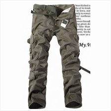 Mizora Men Military Loose Straight Long Pants Trousers (6 Color) MT059582