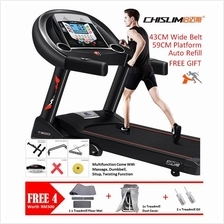 3.0HP CHISLIM T600 Electric Treadmill 59CM Wide Running Belt