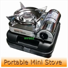Golden Fuji Portable Mini Gas Stove Steamboat Sukiyaki Camping Fishing