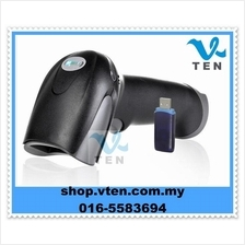 Portable 2.4G Wireless USB Laser Barcode Scanner Reader With Memory