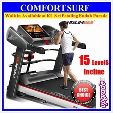 CHISLIM 7016 Electric Incline 4.0HP Treadmill + 4 Ways Spring Damping
