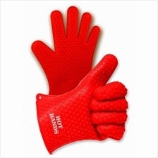 Hot Hands The Non-Slip Silicone Cook Oven Heat Resistant Thick Glove
