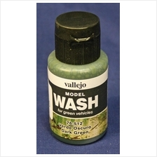 Vallejo Model Wash - Dark Green 35ml 76.512