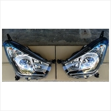 Myvi 2015 Head Lamp Projector With Guide Light