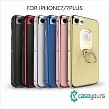 IPAKY Ring iPhone 7  & Plus Tough Kick Stand Bumper Case Cover / Hybrid Case f