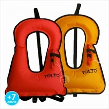 Kids Adults Swimming Life Jacket Vest Whistle Child Youth Boy Girl Boating