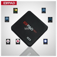 Malaysia Set EVpad Pro 16gb Smart Android IPTV TV box