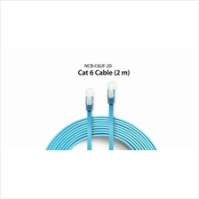 D-LINK CAT6 FLAT PATCH CORD CABLE 2M (NCB-C6UF-20) BLUE