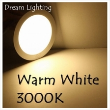 18W 6Inch Led Panel Downlight Round LED Ceiling Recessed Light Warm White (30
