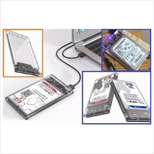 ORICO Transparent external HDD Case 2.5 inch USB3.0 support UASP