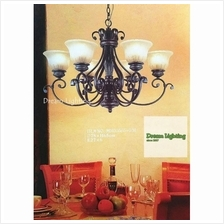 Europe classic and garden style chandelier Dream Lighting / Brown