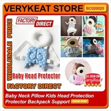 Baby Neck Pillow Kids Head Protection Protector Backpack Support